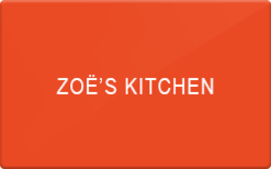 Sell Zoes Kitchen Gift Card