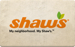 Buy Shaw's Gift Card
