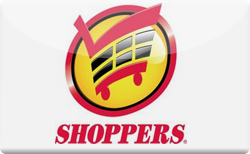 Sell Shoppers Grocery Gift Card