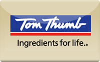 Buy Tom Thumb Gift Card