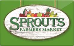 Sell Sprouts Farmers Market Gift Card