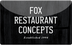 Buy Fox Restaurant Concepts Gift Card