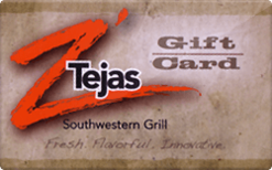 Sell Z'Tejas Gift Card