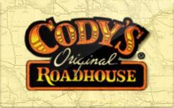 Buy Codys Original Roadhouse Gift Card