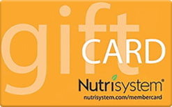 Sell Nutrisystem Gift Card