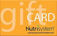 Buy Nutrisystem Gift Card