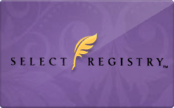 Buy Select Registry Gift Card