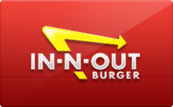 Sell In-N-Out Burger Gift Card
