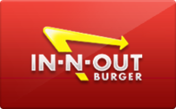 Buy In-N-Out Burger Gift Card
