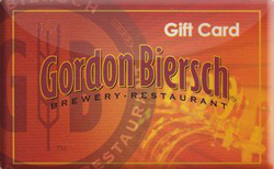 Buy Gordon Biersch Gift Card
