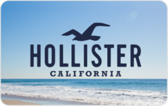 Buy Hollister Gift Card