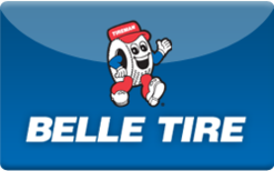 Sell Belle Tire Gift Card