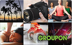Sell Groupon Gift Card