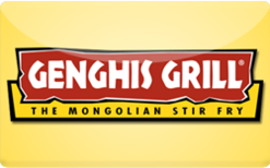 Sell Genghis Grill Gift Card