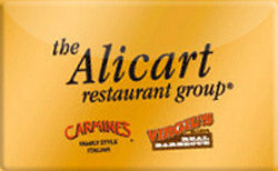 Sell Alicart Restaurant Group Gift Card