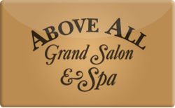 Buy above all grand salon spa gift cards raise for Above all grand salon