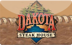 Sell Dakota Steak House Gift Card