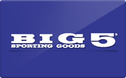 Sell Big 5 Sporting Goods Gift Card