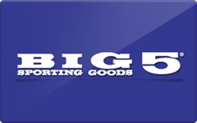 Buy Big 5 Sporting Goods Gift Card