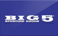 Buy Big 5 Sporting Goods Gift Card
