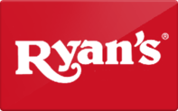 Buy Ryan's Steak House Gift Card