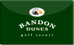 Buy Bandon Dunes Golf Resort Gift Card
