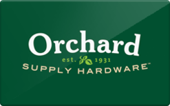 Sell Orchard Supply Hardware Gift Card