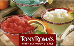 Sell Tony Roma's Gift Card