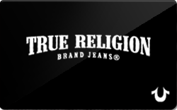 True Religion Brand Jeans Card
