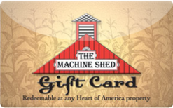 Sell The Machine Shed Gift Card