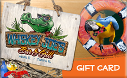 Buy Whiskey Joe's Bar and Grill Gift Card