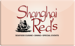 Sell Shanghai Red's Restaurant Gift Card
