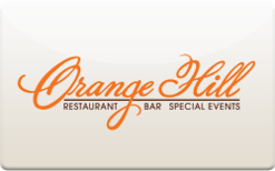 Sell Orange Hill Restaurant Gift Card