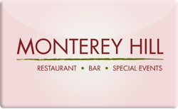 Sell Monterey Hill Restaurant Gift Card