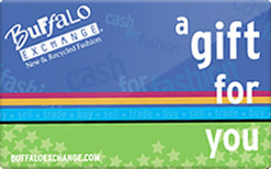 Sell Buffalo Exchange Gift Cards | Raise
