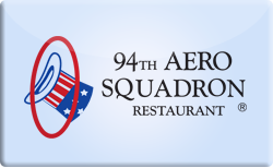 Sell 94th Aero Squadron Restaurant Gift Card