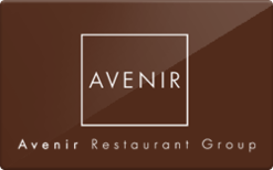 Sell Avenir Restaurant Group Gift Card