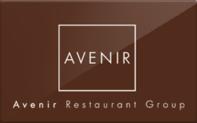 Buy Avenir Restaurant Group Gift Card