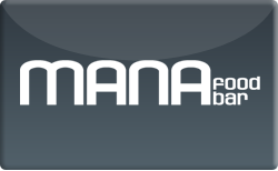 Buy Mana Food Bar Gift Card