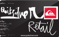 Buy Quiksilver Gift Card