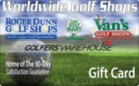 Buy Worldwide Golf Shops Gift Card