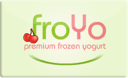 Sell FroYo Gift Card