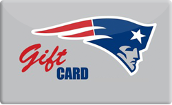 Sell New England Patriots ProShop Gift Card