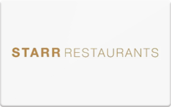 Buy Starr Restaurants Gift Card