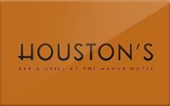 Houston's Gift Card - Check Your Balance Online | Raise.com
