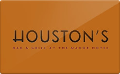 Buy Houston's Gift Card