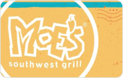 Sell Moe's Southwest Grill Gift Card