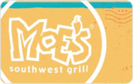 Buy Moe's Southwest Grill Gift Card