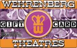 Buy Wehrenberg Theatres Gift Card