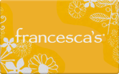Sell Francesca's Gift Card